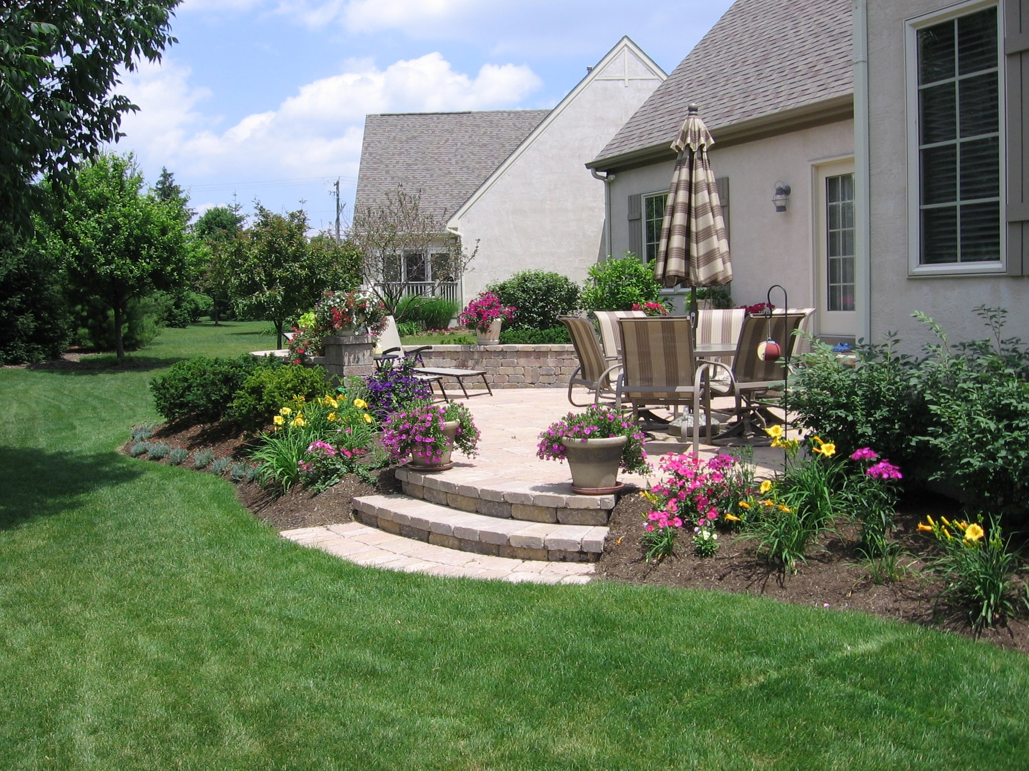 Landscaping Pictures For Decks : Pave your way to better living buck and sons landscape services